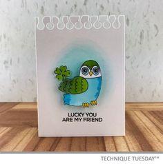Lucky Friend Owl Handmade Card