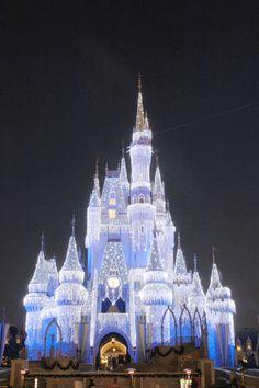 Walt Disney World at Christmas time!