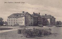 Men's Residence Macdonald College STE ANNE DE BELLEVUE Quebec 1916 Postcard | eBay