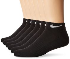 7e8a31fd090 NIKE Performance Cushion Low Rise Socks With Bag Pairs)