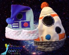 Santa Hat for the Star Wars fan R2D2 or NEW BB-8 style