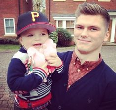 Owen with Gabe