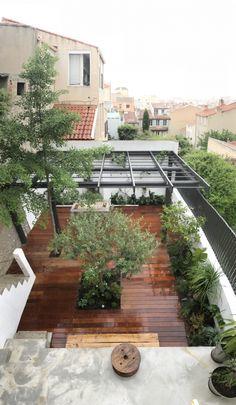 avant après, jardin, jardin marseille, relooking, slowgarden, aménagement jardin, paysagiste marseille