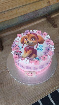 Sky paw patrol cake Paw Patrol Sky Cake, Pastel Paw Patrol, Girls Paw Patrol Cake, Bolo Do Paw Patrol, Torta Paw Patrol, Paw Patrol Birthday Girl, Paw Patrol Cupcakes, Paw Patrol Party Decorations, 3rd Birthday Cakes