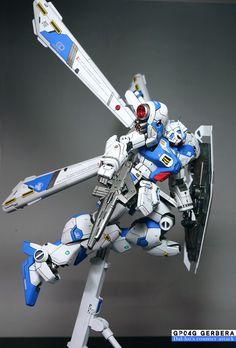 GUNDAM GUY: RE/100 Gundam GP04 Gerbera - Customized Build