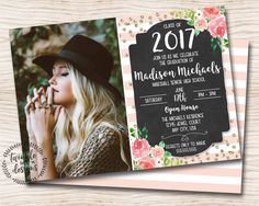 1 graduation invitation endless ideas of how you can personalize it