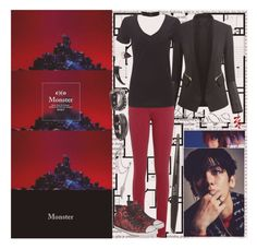 """""""//""""Enjoy the pain you can endure. Fall deeper... You call me monster.""""\\"""" by k-pop-things-and-such ❤ liked on Polyvore featuring Oris, Chicsense, Tommy Hilfiger, Bling Jewelry, Converse, ASOS, Pieces and Givenchy"""