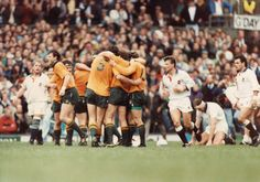 The moment the Wallabies bt England 12–6 in the 1991 Rugby World Cup captained by Nick Farr-Jones.