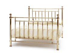 Serene Solomon Brass Precious Metals Bed Frame