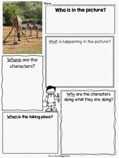 Picture Perfect Narrative Writing - Fun in First Grade