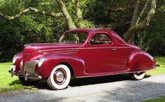 1939 Lincoln Zephyr Coupe