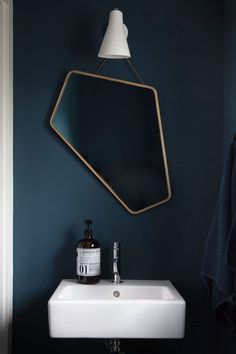The Ego Mirror from Design By Us, above, is a major design statement.