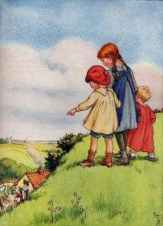 Cicely Mary Barker - There was an old woman lived under a hill