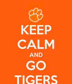 Keep Calm And Go Tiger!!