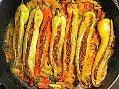 Cupcakeluv: Fyldte peber / Stuffed chilli pepper