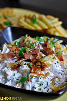 Loaded Baked Potato Dip by Lemon Sugar