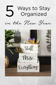 Organization ideas for the home! 🧺️ Tap the image to read the blog and see our top 5 favorite ways to get organized in the new year. ✨ Teacher Organization, Bathroom Organization, Storage Organization, Ray Dunn, Dumbledore Quotes, Bullet Journal Lettering Ideas, Wooden Words, Mason Jar Projects, Everyday Hacks