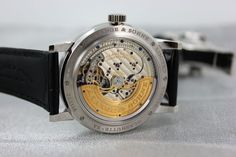 The Lange 1 Tourbillon Perpetual Calender displays the following