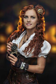 Steampunk.Anastasia by Allsteam on DeviantArt