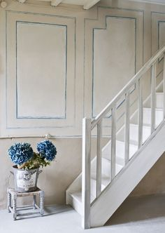Painted Panelling | Photo Gallery: Annie Sloan's Colour Recipes For Painted Furniture | House & Home | Photo by Christopher Drake