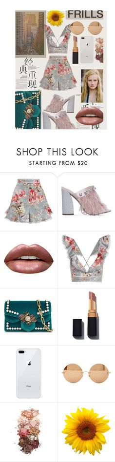 """""""WHEN SHE FOUND HIM"""" by oliviasmiith ❤ liked on Polyvore featuring Zimmermann, Miss KG, Huda Beauty, Gucci, Victoria Beckham and Sigma"""