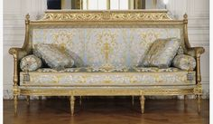 Arts And Crafts Office Furniture Info: 4370705083 French Style Furniture, Rococo Furniture, Drawing Room Furniture, Royal Sofa, Furniture Decor, French Furniture, Rustic Furniture Diy, Gilded Furniture, Vintage Sofa