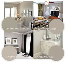 Greige Paint in Living Room | so i opted for a re-design instead of an actual post today. # ...