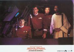 Star Trek V: The Final Frontier, German lobby card. 1989