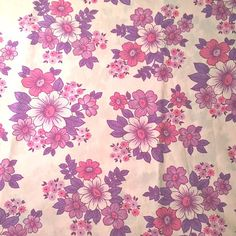 """""""This special purple floral is my #welovepattern2015 for today, I've got some gift sets made from it in my shop, but luckily I have loads, so look forward to using it for something else too #vintagefabric #vintagefabric #vintagesheets #retrofabric #1970s"""" Photo taken by @thisislullaby on Instagram, pinned via the InstaPin iOS App! http://www.instapinapp.com (01/17/2015)"""