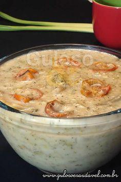 Receita de Sopa Creme de Alho Francês