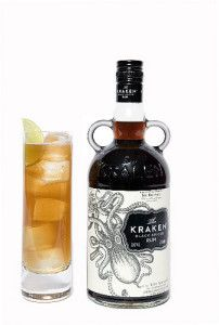 Another mix that is gaining popularity is – Apple juice and Kraken.