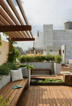 Тerrassenüberdachung selber bauen -Gartenlauben, Markisen und Pergolen