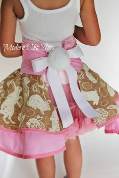 Have you ordered your Burlap Bunny Apron for Easter? These are VERY LIMITED and they are selling FAST!