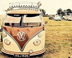 Vintage VW | a real vintage split screen vw camper van, I do… | Flickr