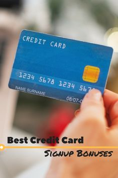 Credit cards now offer cash promotions for new card members. We've assembled the best credit cards with signup bonuses for