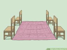 3 Ways to Make a Blanket Fort - wikiHow