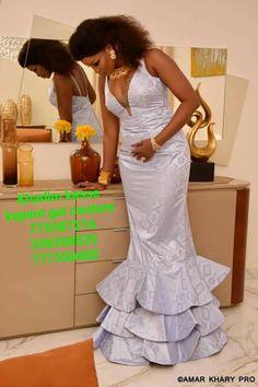 African Wear, African Women, African Dress, Gala Dresses, Bridal Dresses, Senegalese Styles, Nigerian Bride, Ankara Dress, Africa Fashion