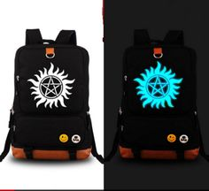 HQ LIMITED GLOW IN DARK Supernatural Backpack