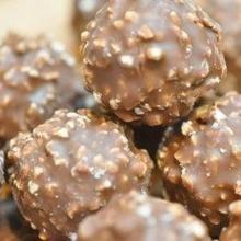 Bombones Ferrero Rocher caseros