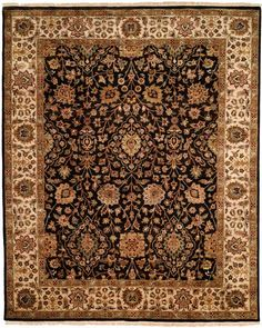 KB362, Black, Hand Knotted, Kalaty Clearance available from rugsdoneright.com