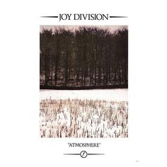 Joy Division Atmosphere Poster 23x33 ($8.99) ❤ liked on Polyvore featuring home, home decor, wall art and ship poster