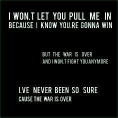 Kelly Clarkson - War is Over