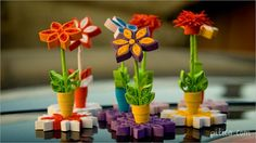 Quilled Flowers in Pots Quilling Videos, Quilling Dolls, Paper Quilling Flowers, Quilling Work, Paper Flowers Craft, Quilling Jewelry, Paper Quilling Designs, Quilling Paper Craft, Quilling Techniques