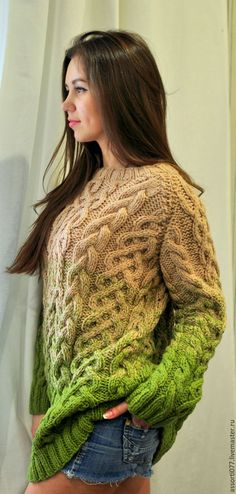 knit sweater women fashion outfit clothing style apparel @roressclothes closet ideas