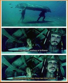 Madness Or Brillance - Caption Jack Sparrow quote Meme   Slapcaption.com