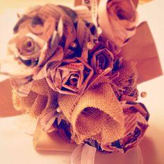 Paper bouquet! Italian handmade !
