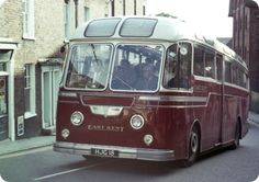 Old Bus Photos - Old bus Photos and informative copy Volkswagen Bus, Vw Camper, Vans Vw, New Bus, Buses And Trains, Bus Coach, Busses, Porsche 356, Commercial Vehicle