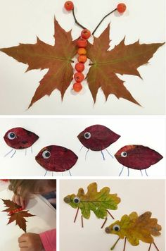 craft foliage pictures make yourself deco children butterfly sheep - # Autumn Leaves Craft, Autumn Crafts, Fall Crafts For Kids, Autumn Art, Nature Crafts, Toddler Crafts, Art For Kids, Leaf Crafts, Diy And Crafts