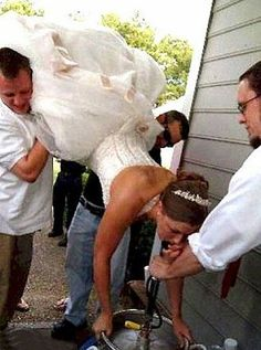 well this will be me at my wedding...