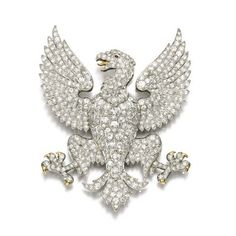 19th-century diamond brooch from the Marquess of Anglesey's estate